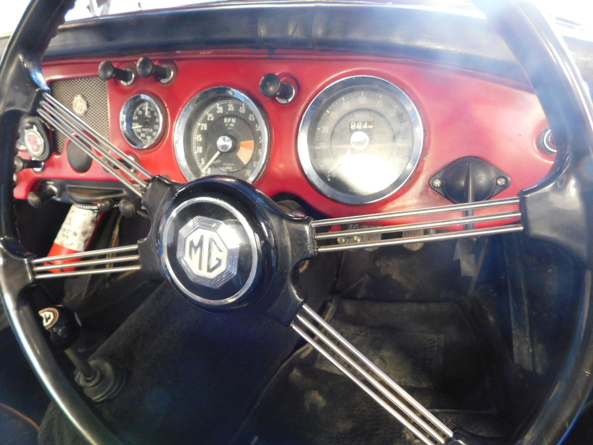 1958 MGA ORIGINAL UK CAR For Sale (picture 5 of 10)