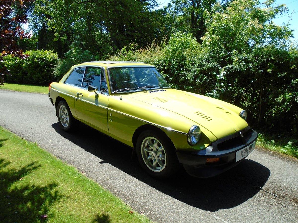 1975 MGB GT V8 - Genuine Factory V8 For Sale (picture 1 of 6)