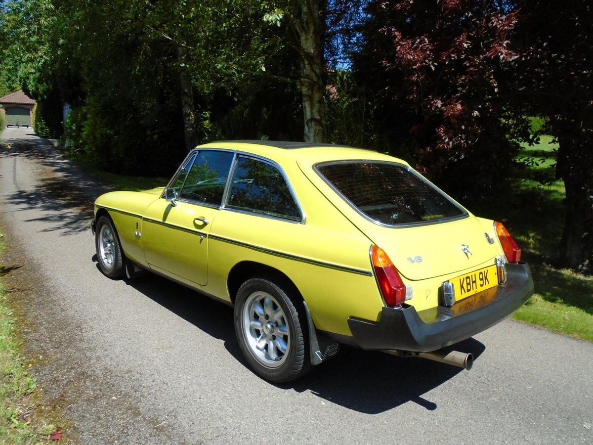 1975 MGB GT V8 - Genuine Factory V8 For Sale (picture 3 of 6)