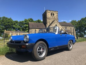 1977 Tahiti Blue  – Very solid and just passed MOT