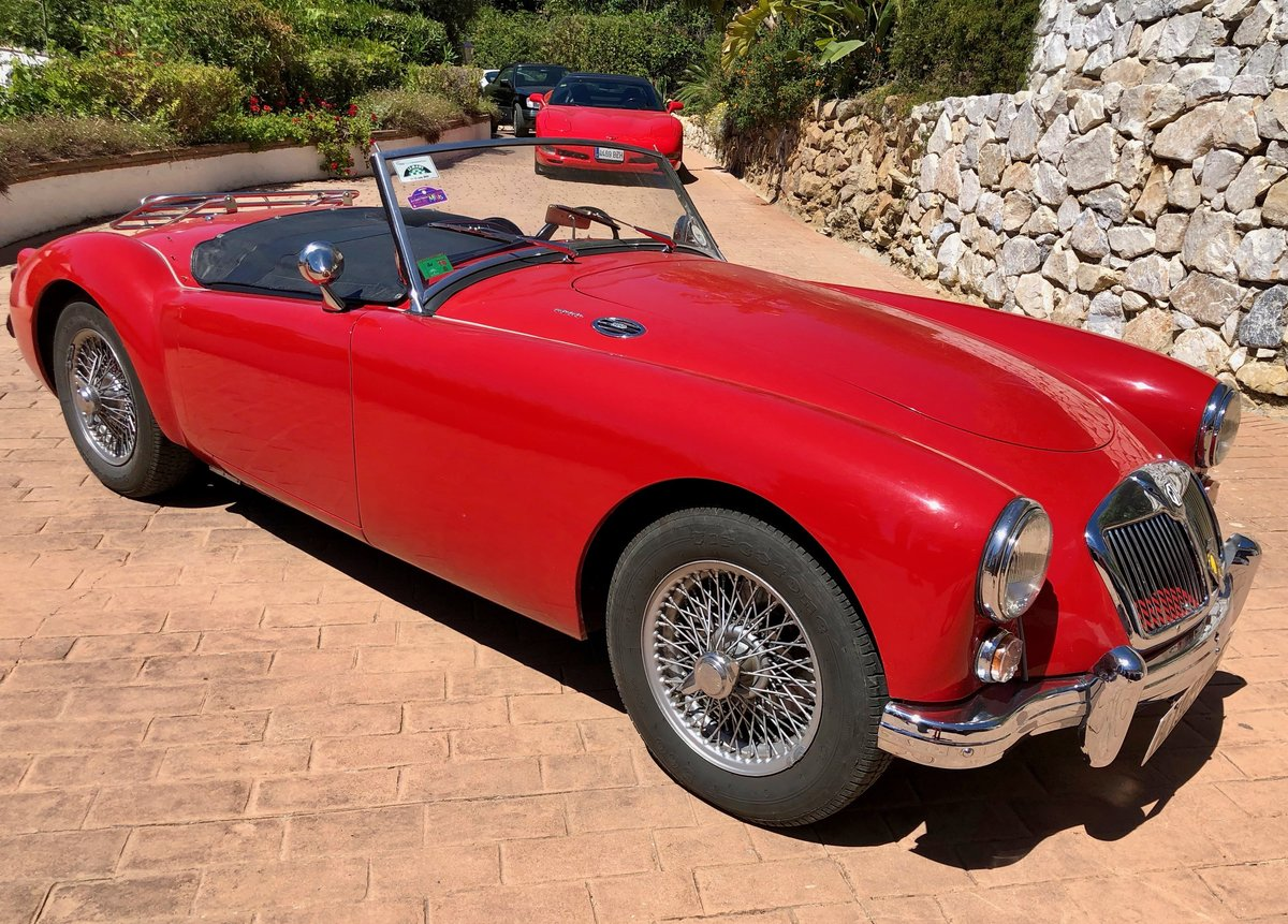 1960 MGA Roadster LHD  For Sale (picture 1 of 6)