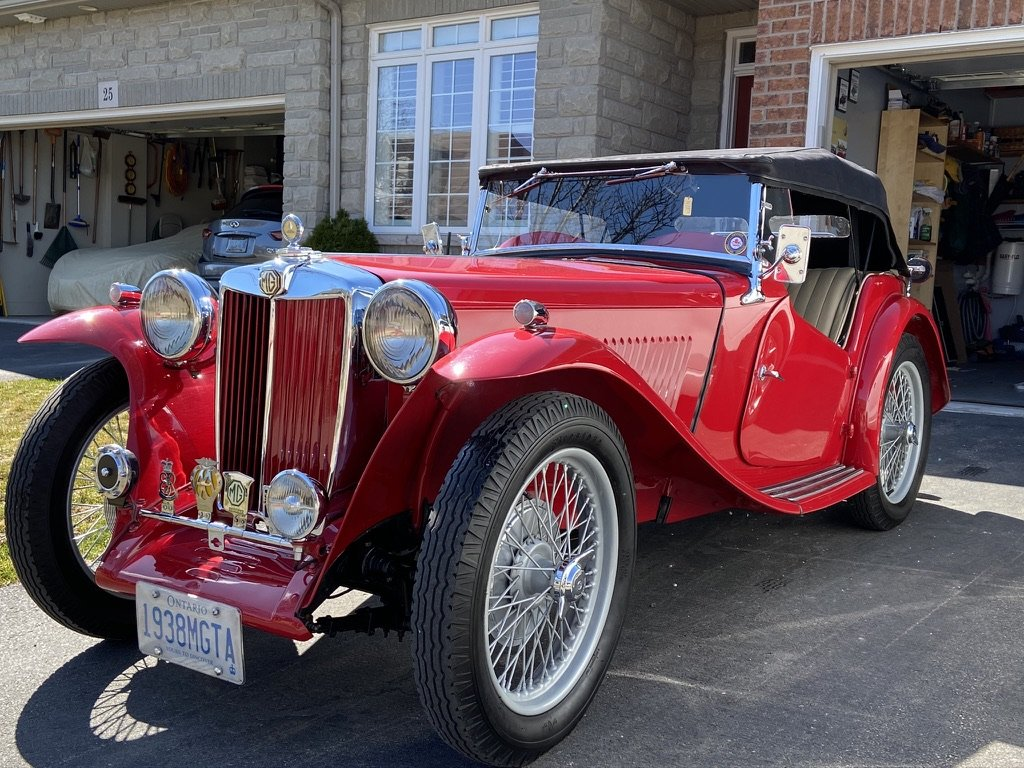 1938 Superb MGTA Price reduced For Sale (picture 1 of 6)