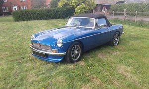 Mgb v8 roadster fully rebuilt to high standard