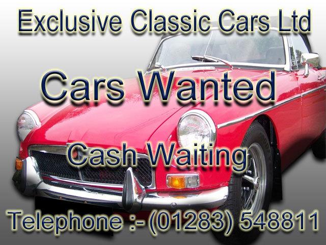 1965 MG MGB GT ROADSTERS MGC MIDGETS MGA MGF MGTF RV8 V8 Wanted (picture 1 of 1)