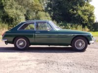 MG B GT, 1971, BRG - Power Steering For Sale