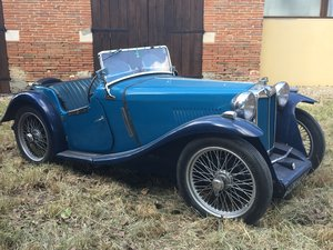 1936 MG PB ROADSTER  SOLD by Auction