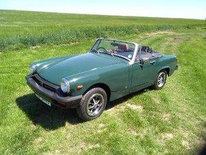 1977 MG Midget 1500 Stunning Looking Low Mileage