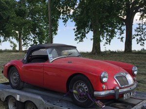 1959 MG A TWIN CAM SOLD by Auction
