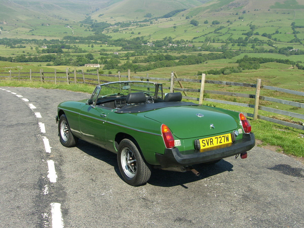 1980 MGB Roadster For Sale (picture 2 of 6)