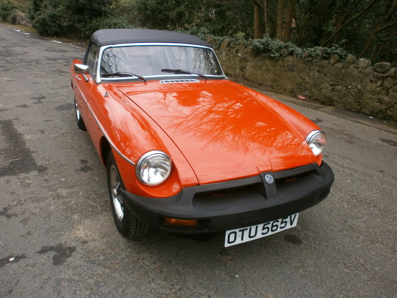 1979 MGB Roadster For Sale (picture 1 of 6)