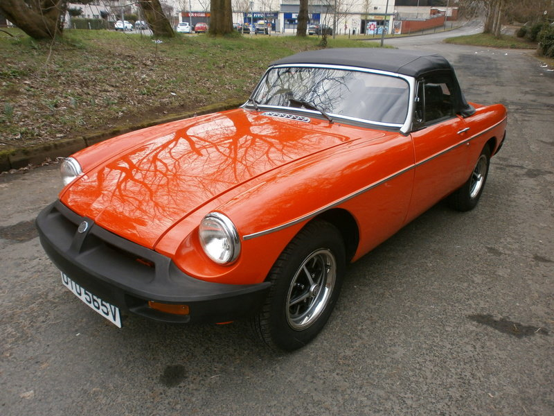 1979 MGB Roadster For Sale (picture 2 of 6)