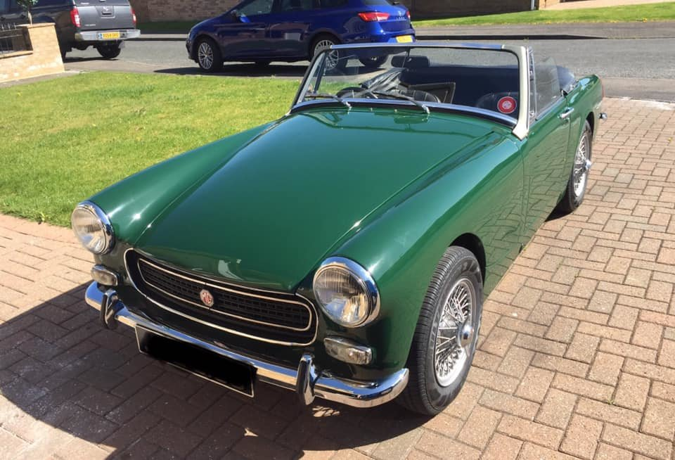 1972 MG Midget RWA stunning condition SOLD (picture 1 of 6)