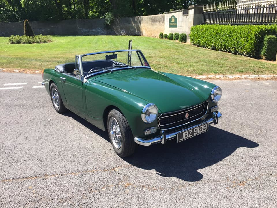 1972 MG Midget RWA stunning condition SOLD (picture 2 of 6)