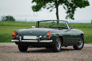 1972 Very nice MGB LHD with 55.000 miles SOLD