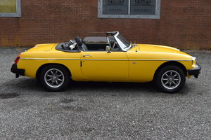 1979 MGB Roadster, Just 56,665 Miles, Lovely History & Superb!