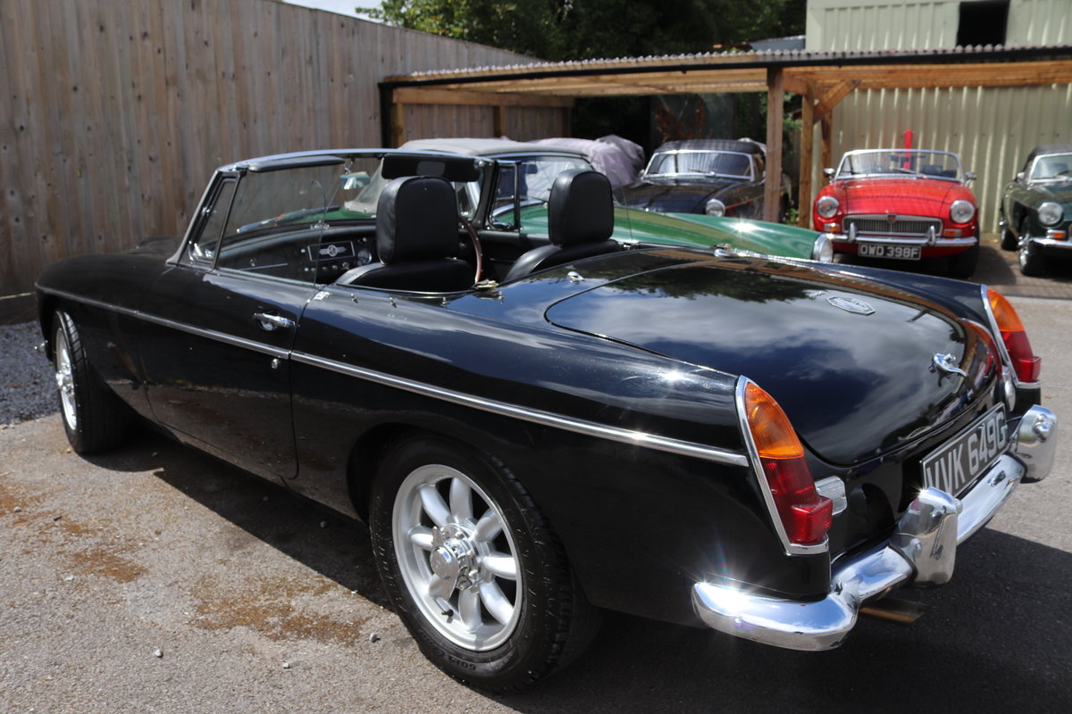 1969 MGC Roadster, Rebuilt by MG Specialist in 2018 For Sale (picture 3 of 5)