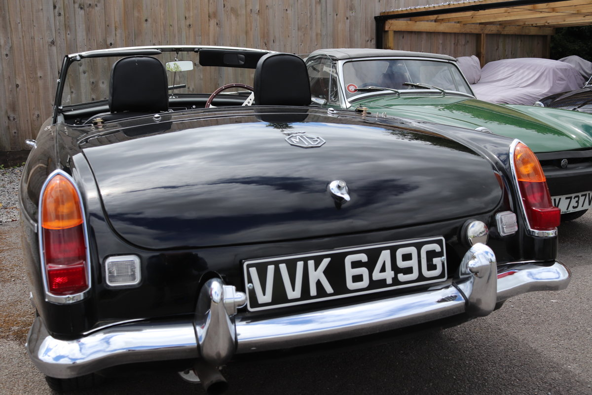 1969 MGC Roadster, Rebuilt by MG Specialist in 2018 For Sale (picture 5 of 5)