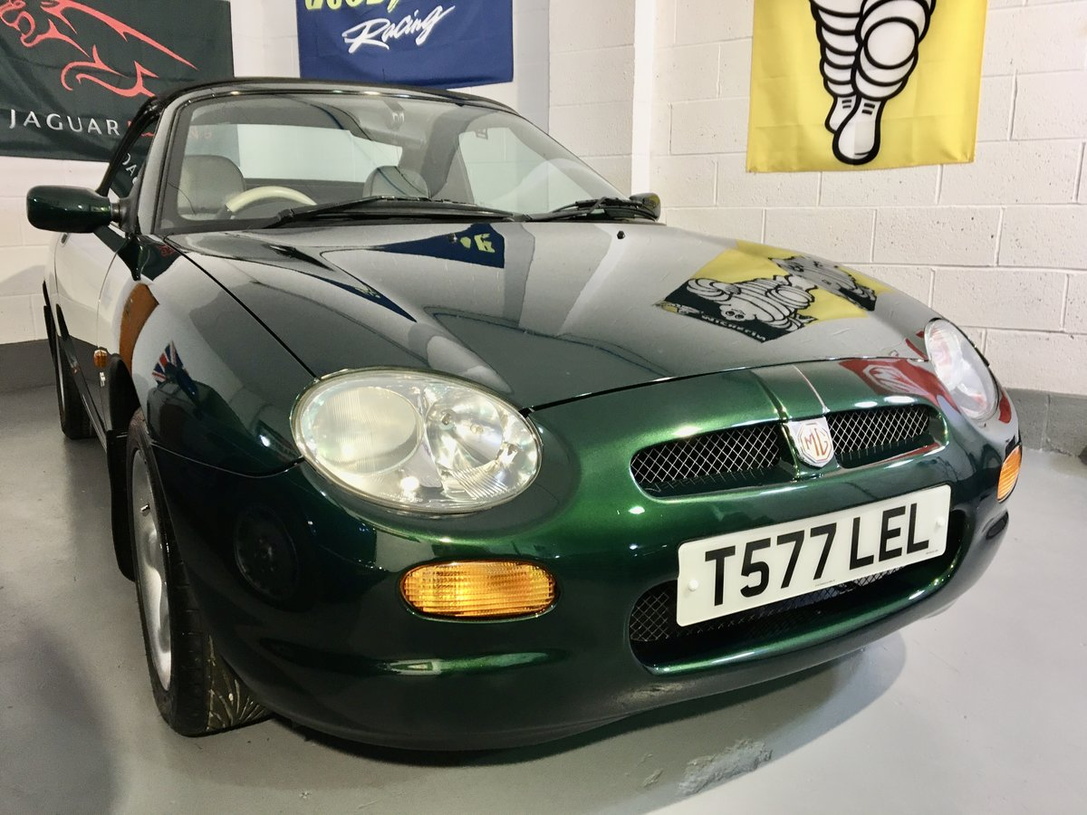 1999 MGF 1.8 Sports Convertible - Ultra Mint & Low Mileage 17k For Sale (picture 1 of 6)