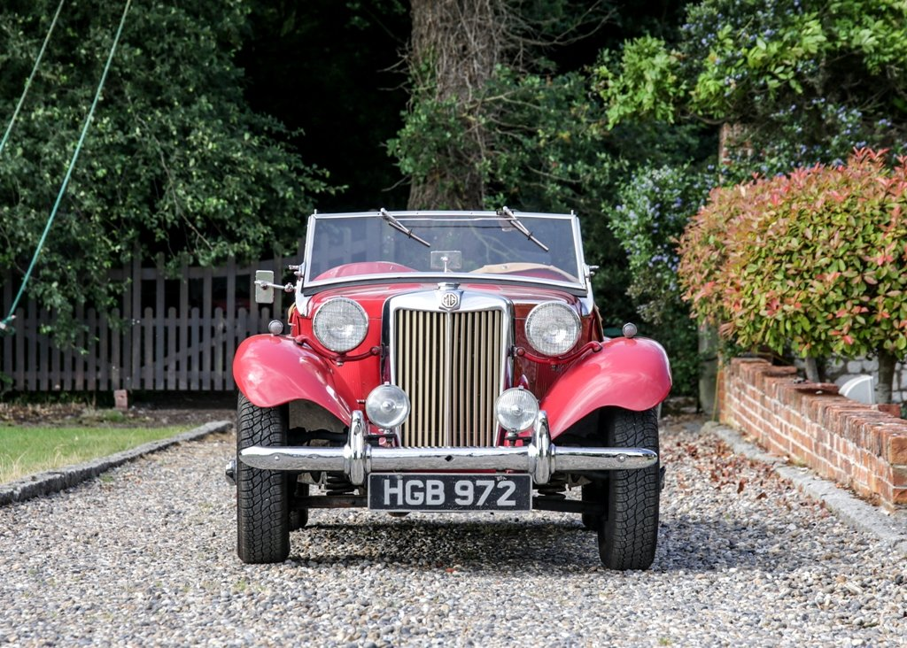 1950 MG TD SOLD by Auction (picture 1 of 6)