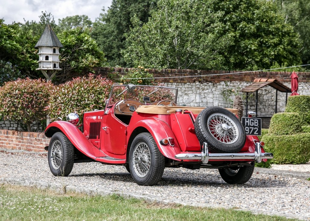 1950 MG TD SOLD by Auction (picture 4 of 6)