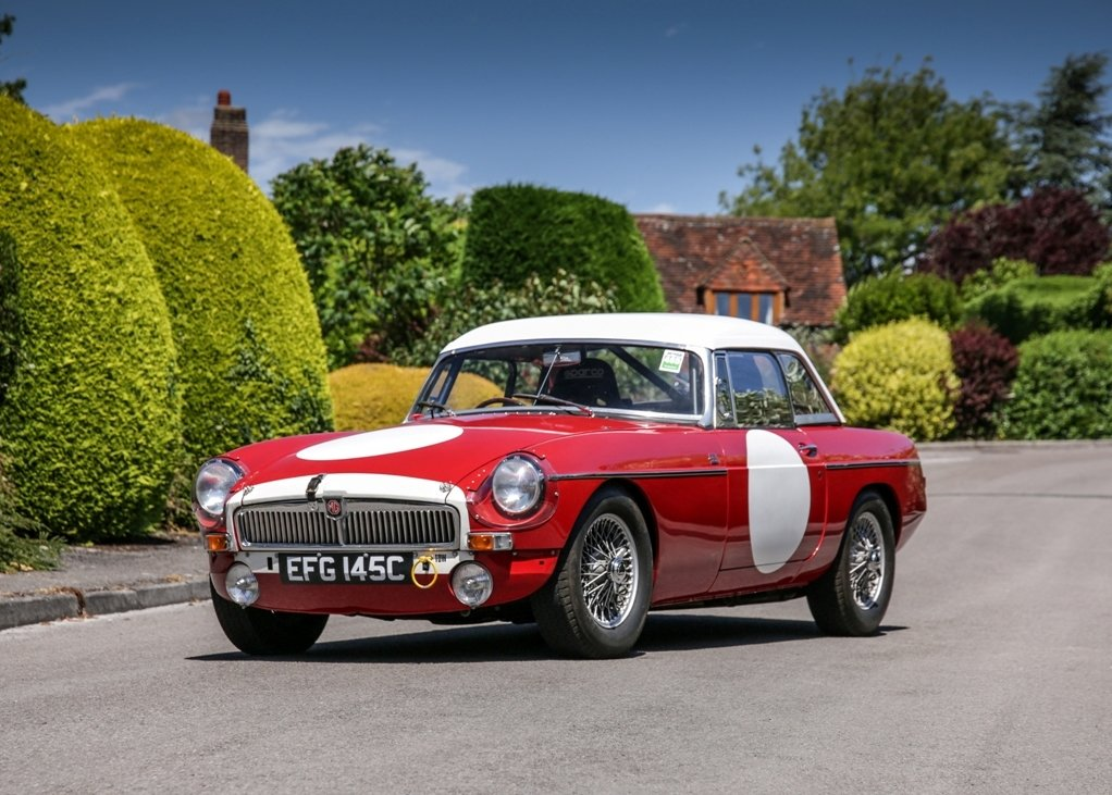 1965 MG B Roadster Sebring Competition Tribute For Sale (picture 1 of 6)