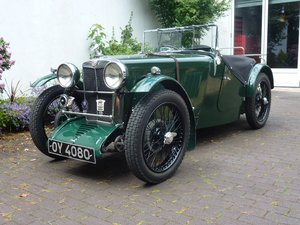 1932 MG J2 For Sale by Auction