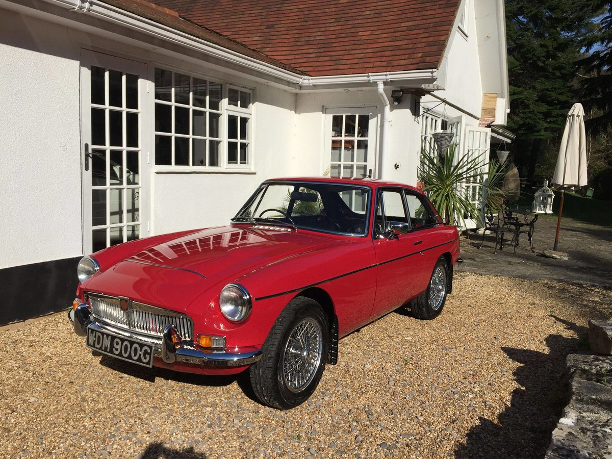 1969 MGC GT 3.0 SPORTS COUPE WITH OVERDRIVE For Sale (picture 1 of 6)