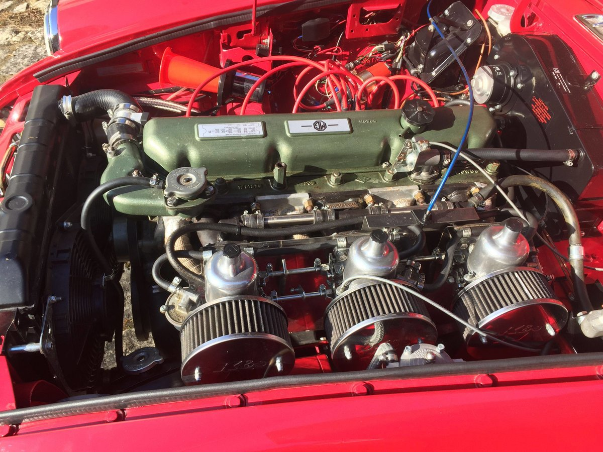 1969 MGC GT 3.0 SPORTS COUPE WITH OVERDRIVE For Sale (picture 5 of 6)