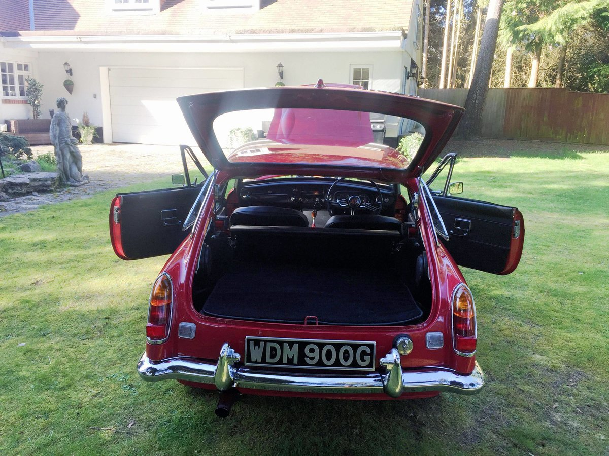1969 MGC GT 3.0 SPORTS COUPE WITH OVERDRIVE For Sale (picture 6 of 6)