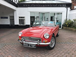 Picture of 1968 MGC ROADSTER. UNIVERSITY MOTORS SUPPLIED. For Sale
