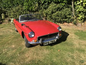 1971 MGB Roaster Automatic.  One Owner From New