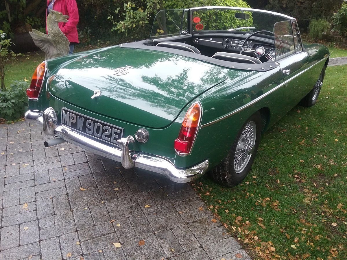1964 MGB Roadster mk1 Pull Handle For Sale (picture 2 of 6)