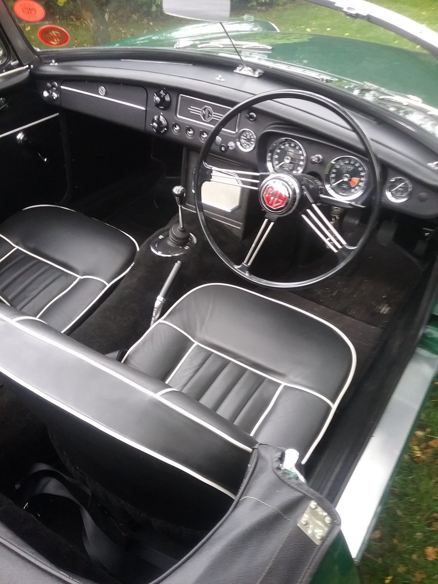 1964 MGB Roadster mk1 Pull Handle For Sale (picture 5 of 6)