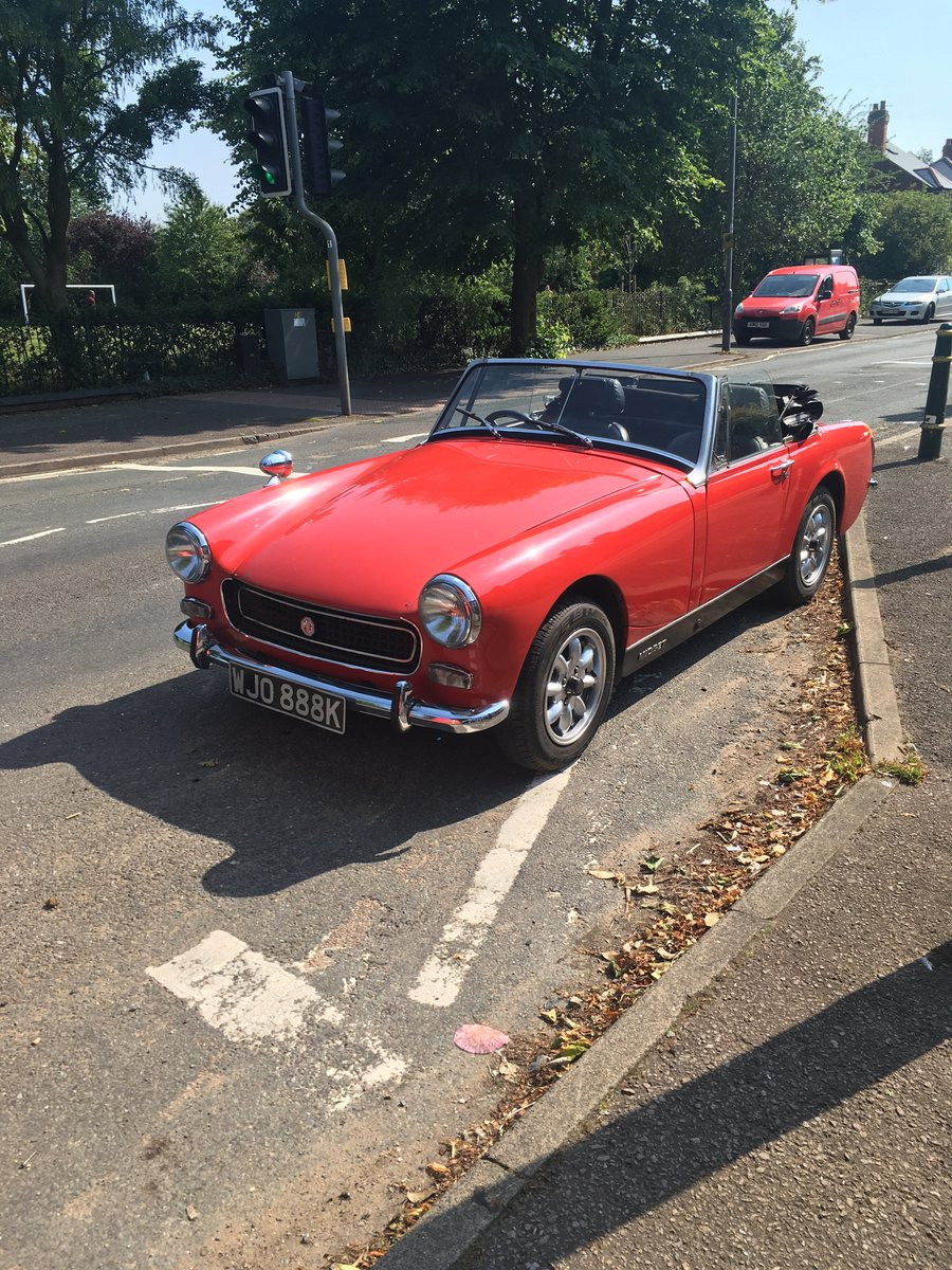 1972 MG Midget RWA For Sale (picture 1 of 4)