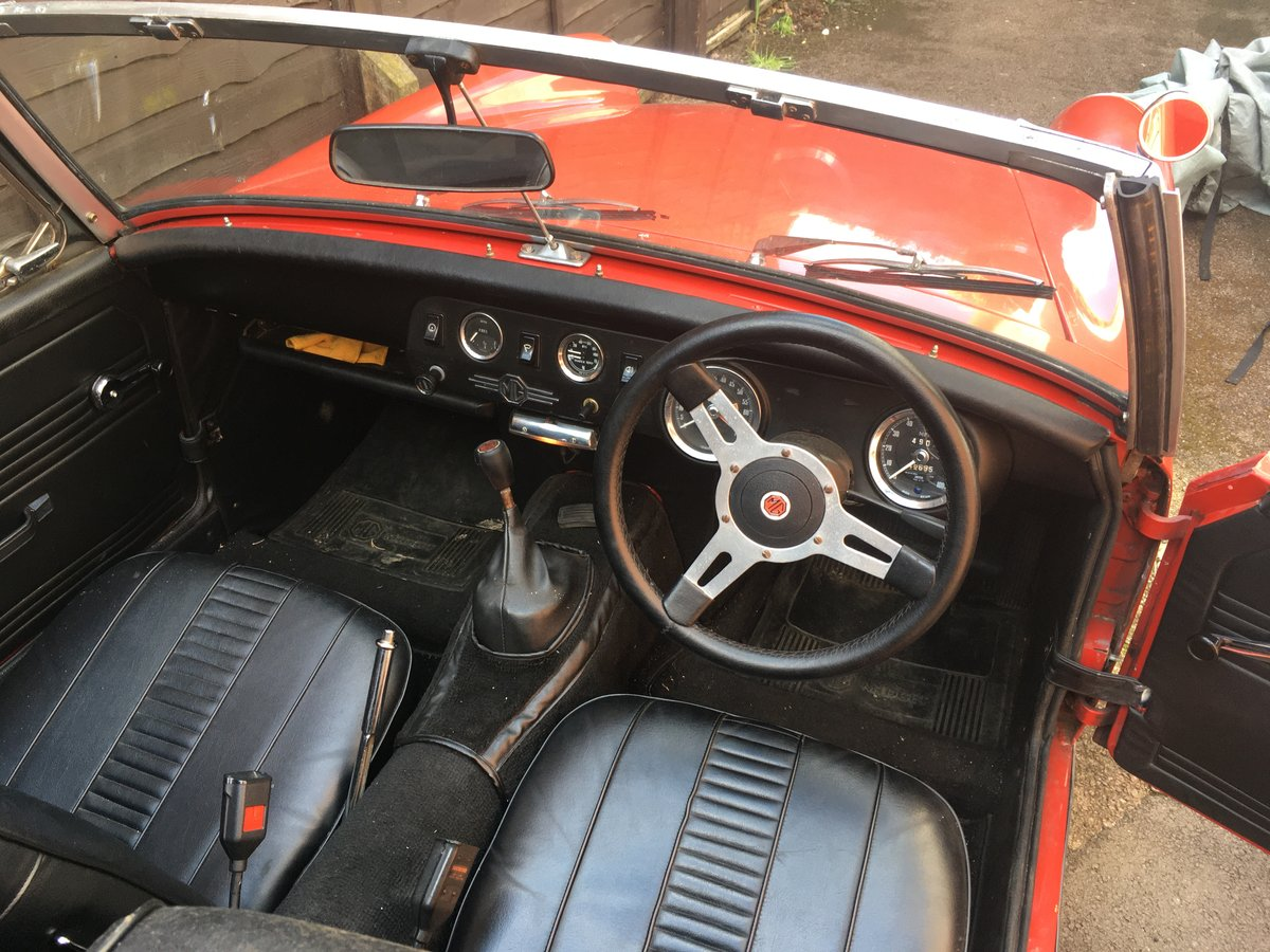 1972 MG Midget RWA For Sale (picture 3 of 4)