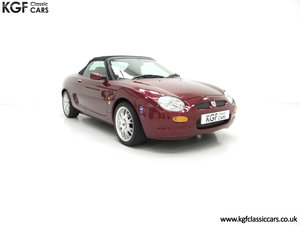 1999 A Limited Edition Individually Numbered MGF 75th Anniversary