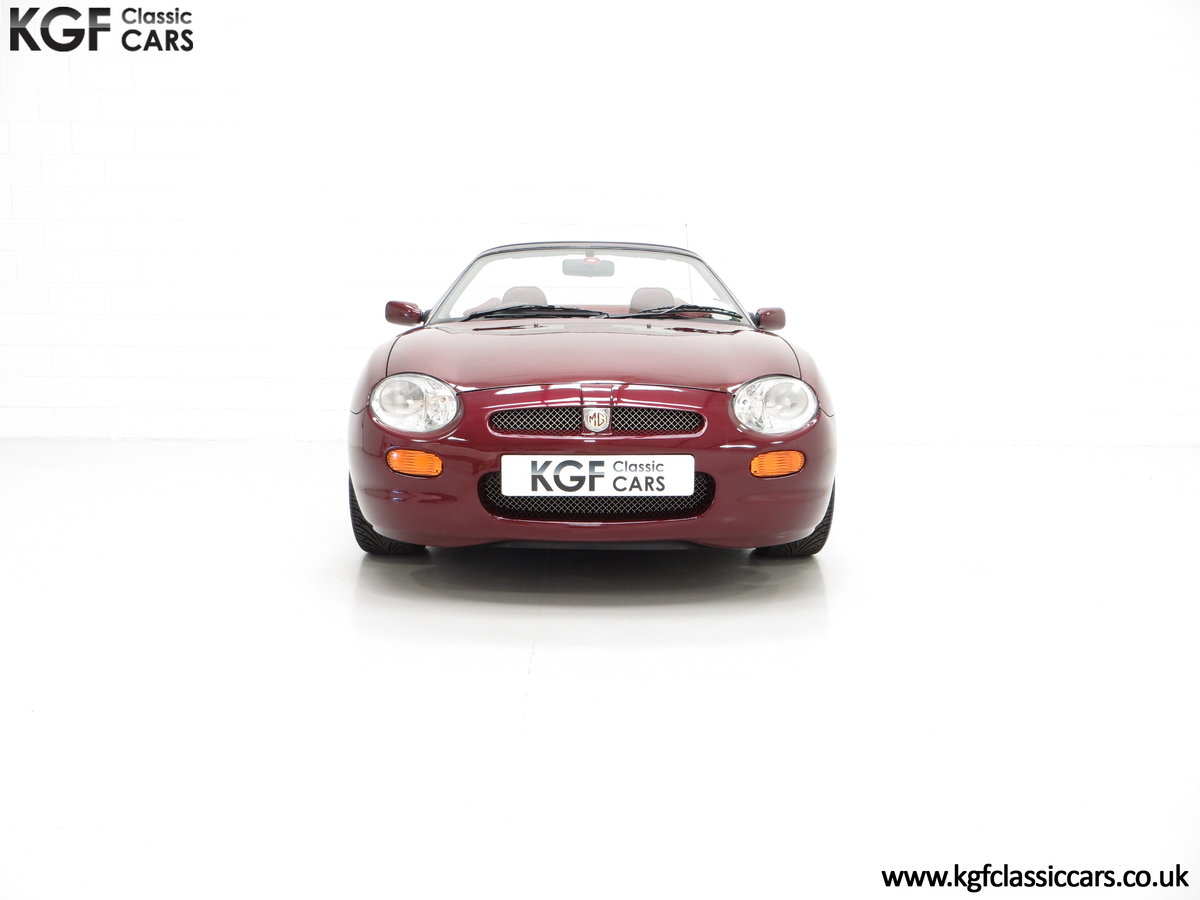 1999 A Limited Edition Individually Numbered MGF 75th Anniversary SOLD (picture 3 of 24)