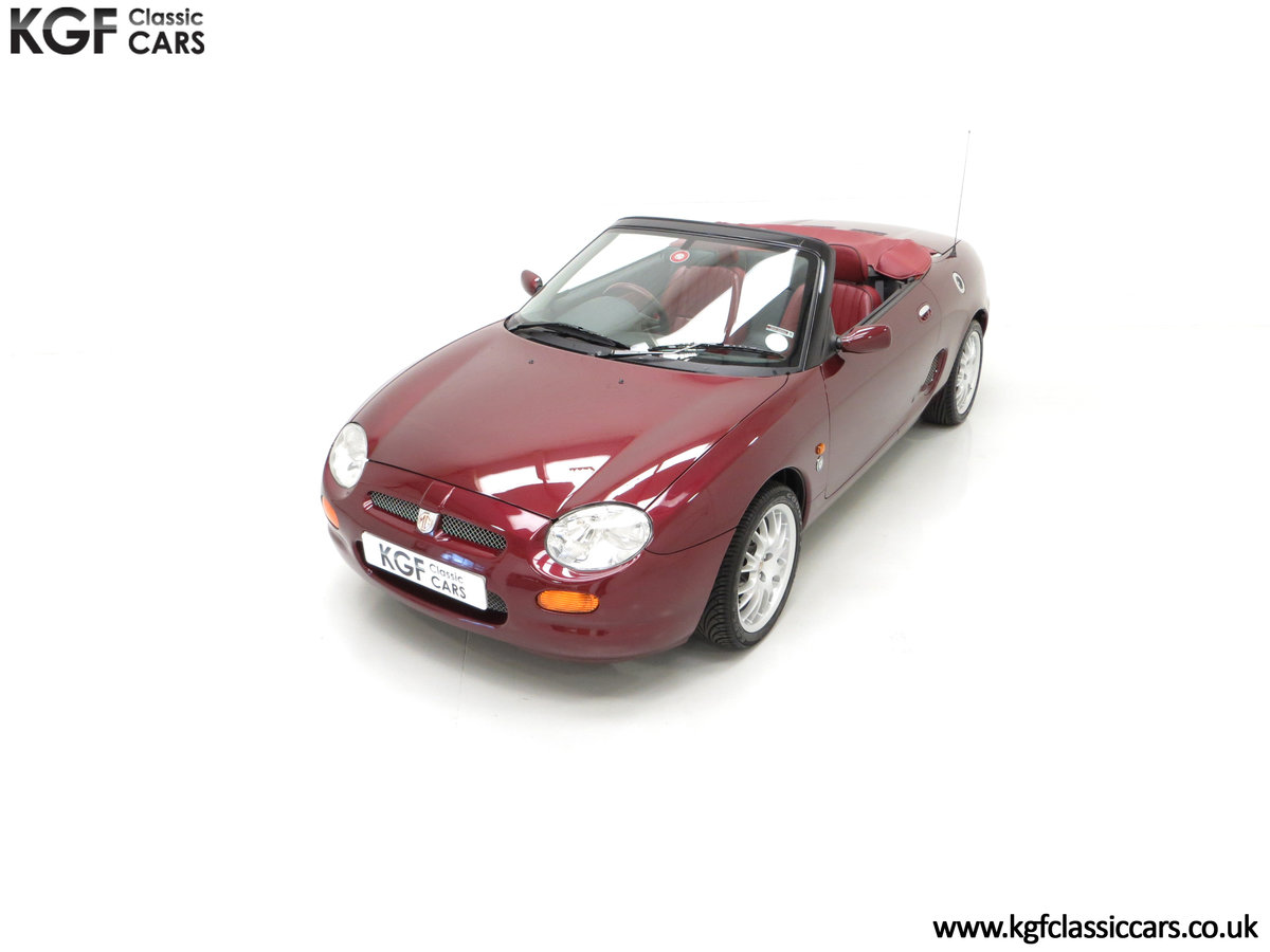 1999 A Limited Edition Individually Numbered MGF 75th Anniversary SOLD (picture 5 of 24)