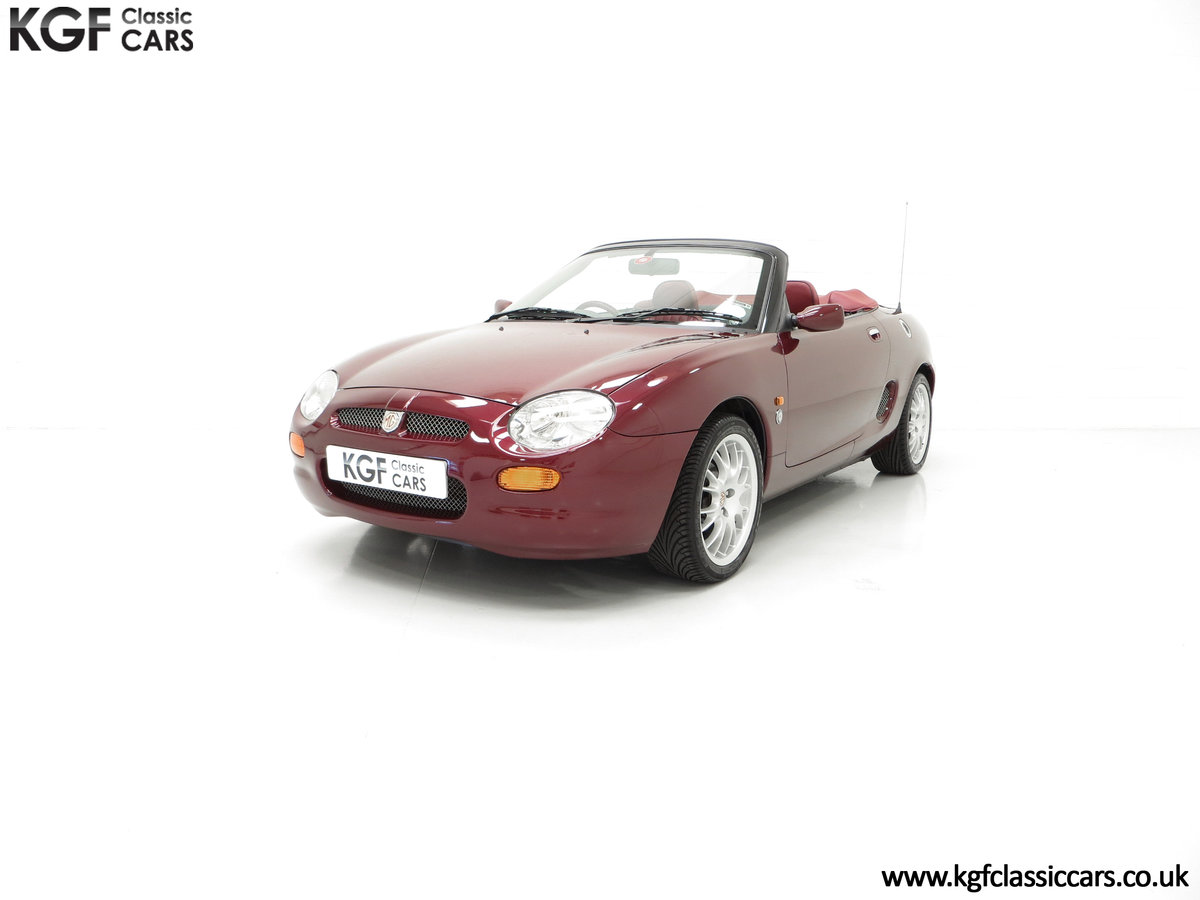 1999 A Limited Edition Individually Numbered MGF 75th Anniversary SOLD (picture 6 of 24)
