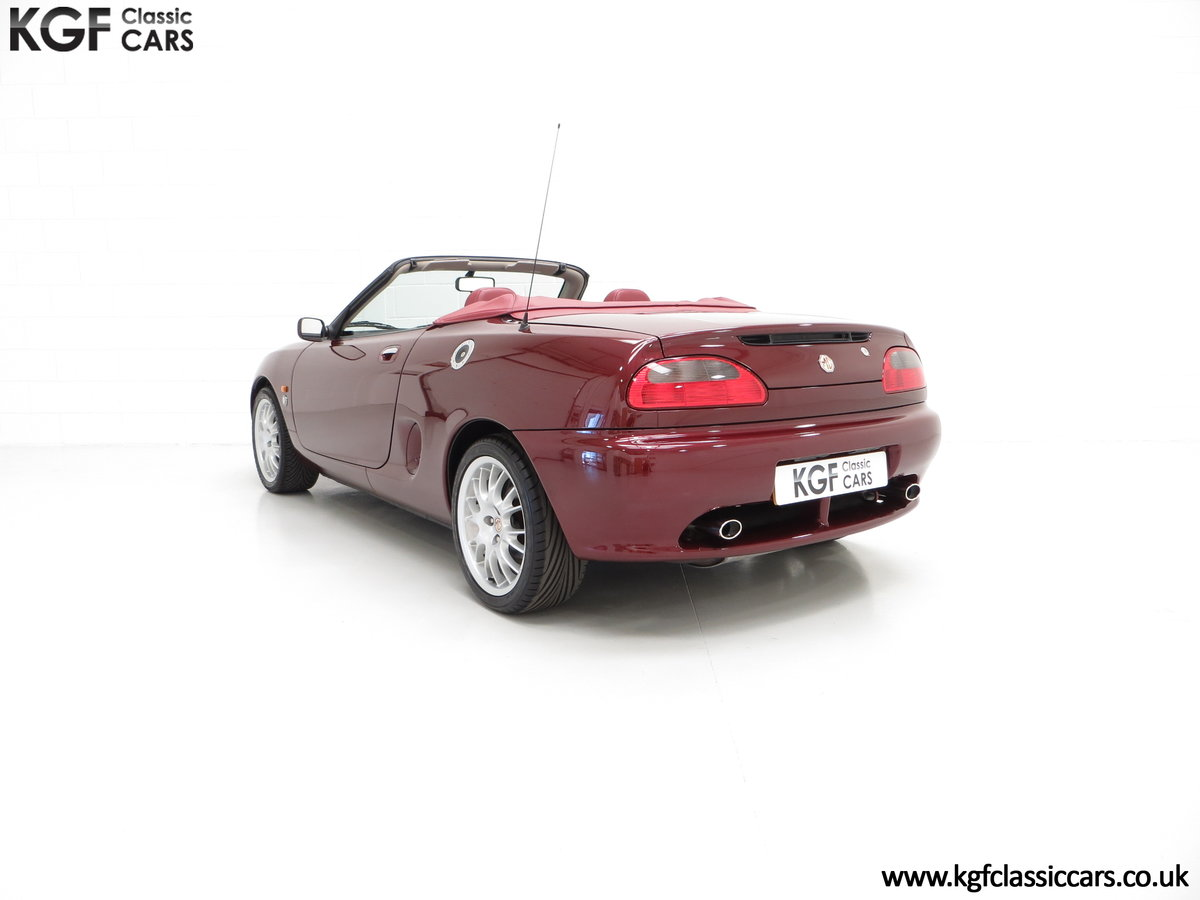 1999 A Limited Edition Individually Numbered MGF 75th Anniversary SOLD (picture 8 of 24)