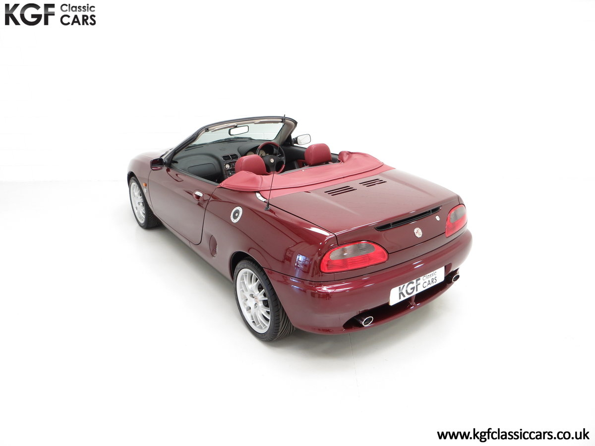 1999 A Limited Edition Individually Numbered MGF 75th Anniversary SOLD (picture 9 of 24)