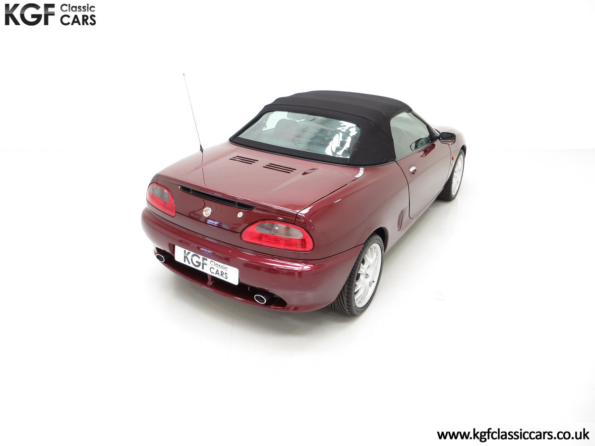 1999 A Limited Edition Individually Numbered MGF 75th Anniversary SOLD (picture 12 of 24)