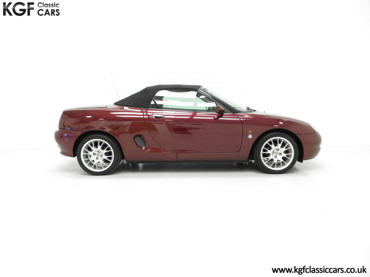 1999 A Limited Edition Individually Numbered MGF 75th Anniversary SOLD (picture 14 of 24)