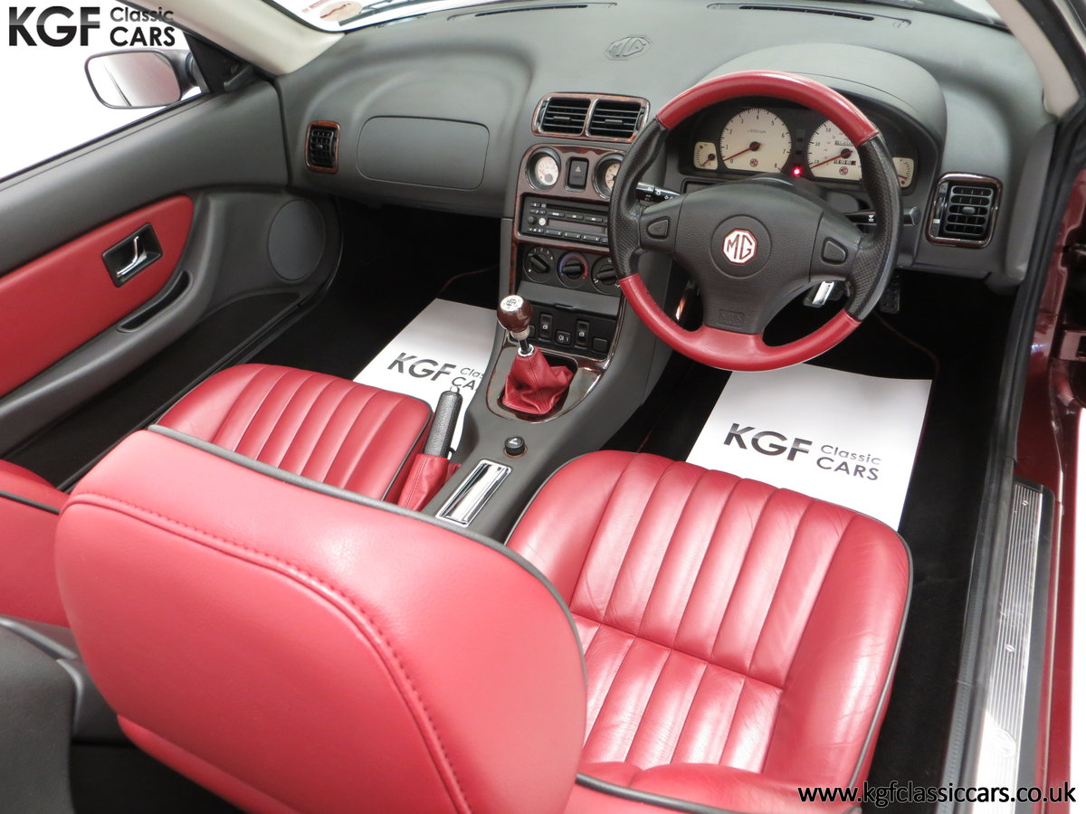 1999 A Limited Edition Individually Numbered MGF 75th Anniversary SOLD (picture 18 of 24)