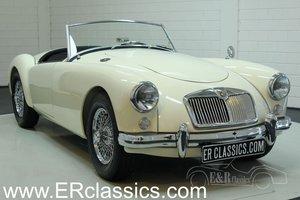 MGA cabriolet 1958 restored