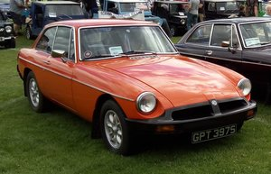 1978 MG B GT Good Condition M.O.T Oct 20 HISTORIC  For Sale
