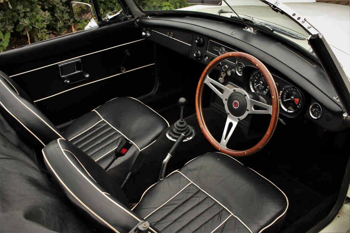 1969 Mk2 MGB Roadster - Snowberry White, Older Restoration SOLD (picture 3 of 6)