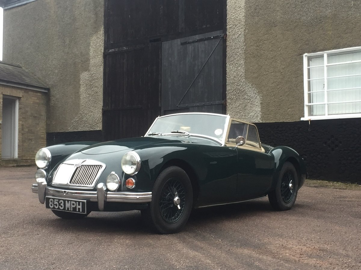 1960 MGA roadster For Sale by Auction (picture 1 of 6)