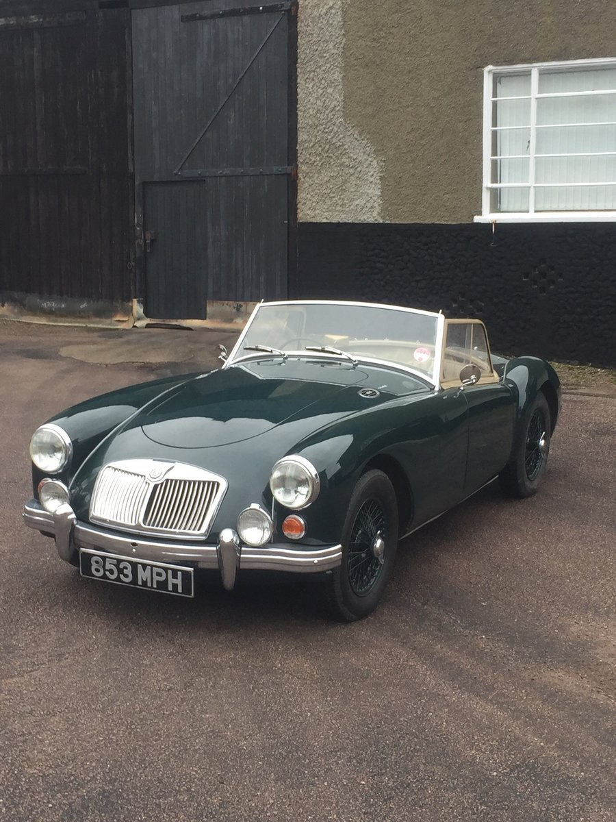 1960 MGA roadster For Sale by Auction (picture 2 of 6)