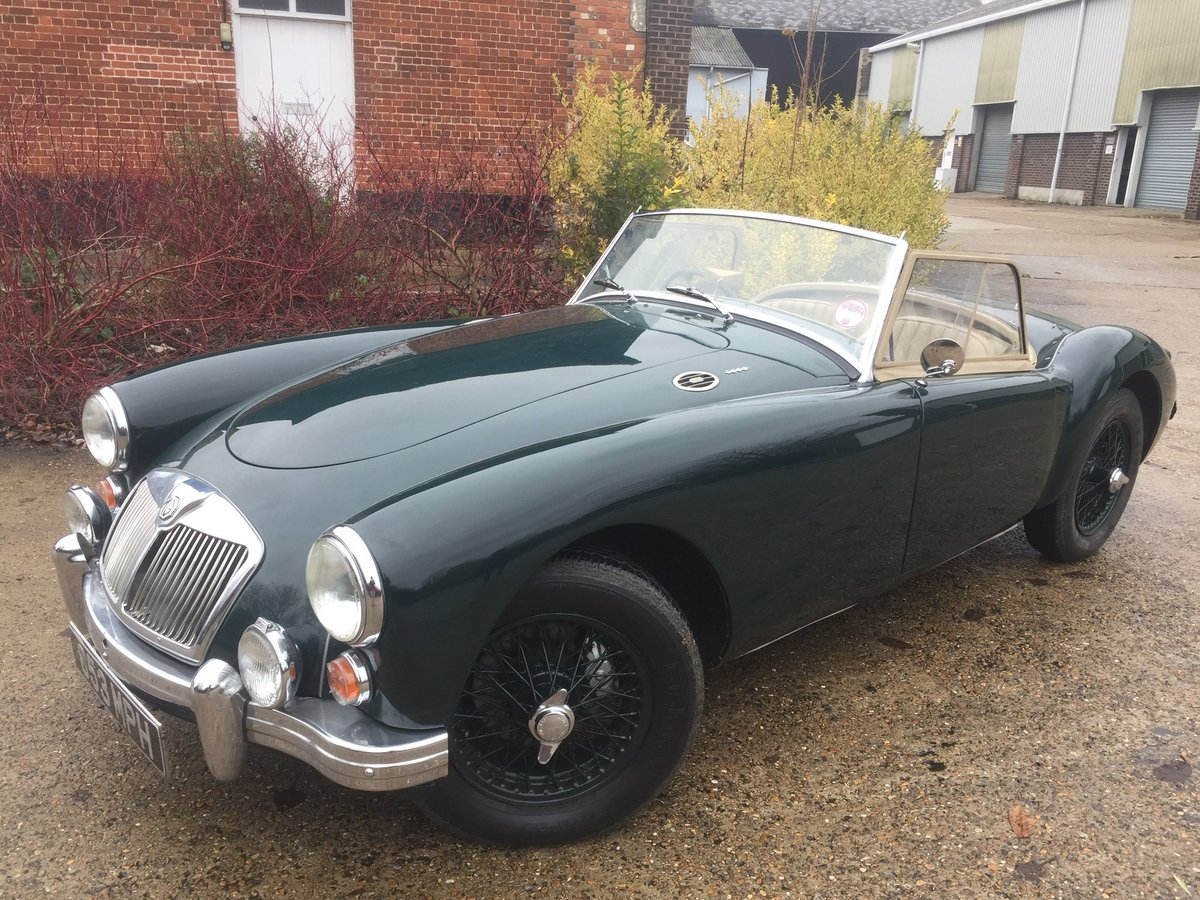1960 MGA roadster For Sale by Auction (picture 3 of 6)